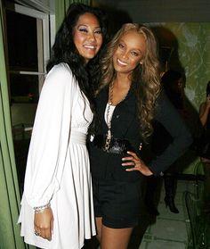 The Supermodels: Tyra Banks and Kimora Lee Simmons