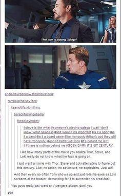 avengers sitcom, GET ON IT!