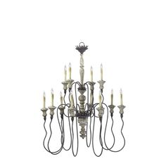 Buy the Cyan Design Carraige House Direct. Shop for the Cyan Design Carraige House Twelve Lamp Chandelier from the Provence Collection and save. French Country Chandelier, French Country Dining, Rustic Chandelier, Vintage Chandelier, Chandelier Lighting, Cyan Lighting, Lighting Showroom, Home Lighting, Lighting Ideas