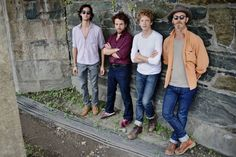 Pics From Newport Folk Fest; Dawes, one of the top BEST bands out there right now. Could they be any better looking?