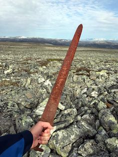 The Viking Sword. Found early September 2017.
