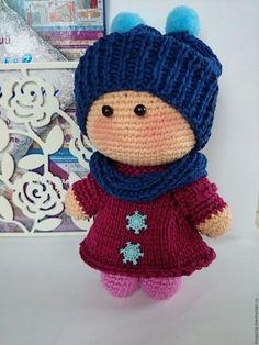 Купить Пупсы вязаные куколка йо-йо - комбинированный, крючком, вязаные крючком, кукольная одежда ♡