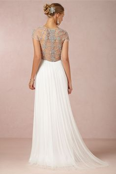 Tallulah Gown in Bride Wedding Dresses at BHLDN