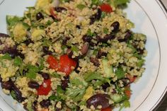 Fast Food Friday::  Mexican Millet Salad