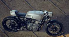 1977 Honda CB750 F2 Four cafe racer