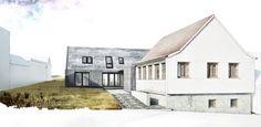 House FM / Sigle Family House / Location: Cisnădioara / Year: 2015 - 2016 / Team: Mihai Sima, Raluca Sabău, Emese Luha / 3D Visualisation: Emese Luha