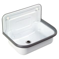 Possible sink idea for the guest bath, but can't find a distributor.