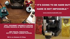 100% MEXICAN GOURMET ARABICA COFFEE, ROASTED IN THE UK. AVAILABLE ON AMAZON IT, FR, ES, USA, CANADA, UK & E-BAY http://www.ebay.co.uk/itm/Mexico-Real-Cafe-Espresso-100-SHG-Arabica-Coffee-Single-Origin-Mexico-454g-/292140342124?hash=item4404ebdb6c:g:eNUAAOSwdGFYomM9  #coffee #cafe #caffe #drink #gourmet #restaurants #motivation #goals #coaching #ceo #finance #entrepreneurs #business #mexicorealcafe #essex #sussex #universities #motivation #fitness #caffe #sweet #recipes #lovely #amazon #ebay…