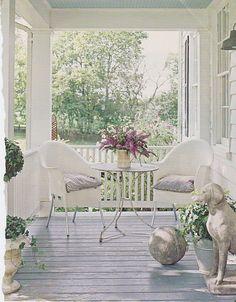 screened porch inspiration // Fieldstone Hill