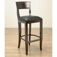 <li>Complete your home decor with a Walnut Beidermier counter stool</li> <li>Dining room furniture features solid beech wood construction</li> <li>Bar stool showcases European craftsmanship</li>