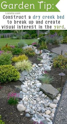 50 Diy Dry Creek Landscaping Ideas With Pictures! - Darcy Wylie - 50 Diy Dry Creek Landscaping Ideas With Pictures! 50 Super Easy Dry Creek Landscaping Ideas You Can Make! Landscaping With Rocks, Front Yard Landscaping, Landscaping Ideas, Landscaping Software, Backyard Ideas, Dry Riverbed Landscaping, Landscaping Melbourne, Natural Landscaping, River Rock Landscaping