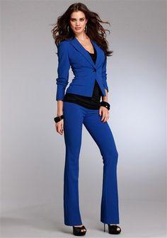 Laura Scott Anzug (Set, 2-tlg.) im Online Shop von Ackermann Versand Online Shop Kleidung, Laura Scott, Mode Online Shop, Shops, Blue Fashion, Suits For Women, Favorite Color, Jumpsuit, Luxury