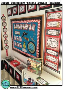 PIRATE Themed Classroom Photos, Printables