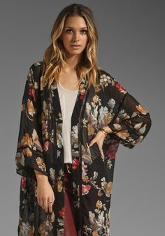 MINKPINK Miss Saigon Kimono Cape in Multi at Revolve Clothing - Free Shipping!