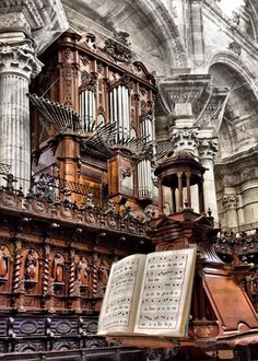 Inside Cadiz Cathedral - Cadiz, Spain.  http://www.costatropicalevents.com/en/costa-tropical-events/andalusia/welcome.html
