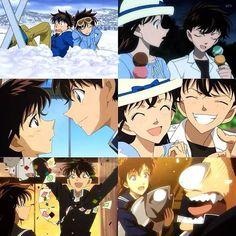 Kaito & Aoko... damn cute