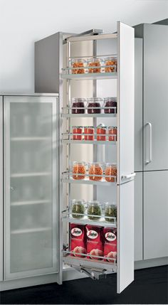 pull out shelving - narrow