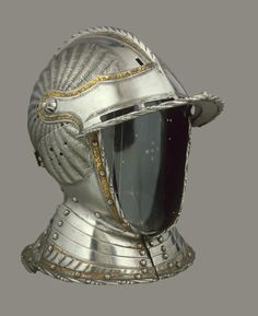Burgonet Helmet Place of creation: Germany Date: Middle - second half of the 16th century School: Augsburg (?) Material: steel