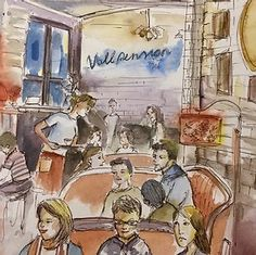 Times New Roman, Animation, Urban Sketching, Blur, Painting, Sketches Of People, Places, Landscape, To Draw