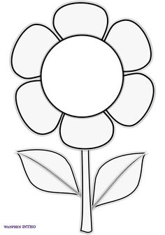File Folder Activities Islam For Kids Daycare Crafts Crafts For Kids Flower Template Mothers Day Crafts Rock Art Coloring Pages Colouring Rock Crafts, Arts And Crafts, Paper Crafts, Preschool Coloring Pages, Coloring Pages For Kids, Flower Coloring Pages, Colouring Pages, Art For Kids, Crafts For Kids