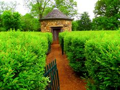 Harmonist's Labyrinth - New Harmony Indiana