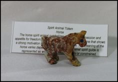 Tiny Horse Soapstone Jasper Carving Spirit Animal Totem Birthday Gifts House Warming Gifts by timelessdesigns07 on Etsy