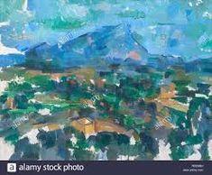 paul Cézanne la montagne sainte victoire – RechercheGoogle Paul Cézanne, Google, Painting, Art, Mountain, Art Background, Painting Art, Kunst, Paintings