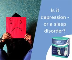 It's a well-known fact that depression can cause sleep problems. But there is also evidence of sleep problems contributing to depressive disorders. A study found that men with sleep apnoea and insomnia had a much higher rate of depressive symptoms compared with the control population. Of the 700 men examined, 43% of those with both conditions had depression. Sleep Apnoea, Sleep Problems, Snoring, Insomnia, Disorders, Depression, Study, Facts, Reading