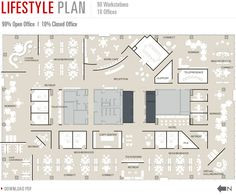 180 Walnut at The Banks | Floorplans: Large, flexible floor plates