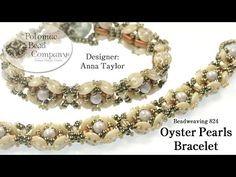 Oyster Pearls Bracelet - YouTube, all supplies available from www.potomacbeads.com