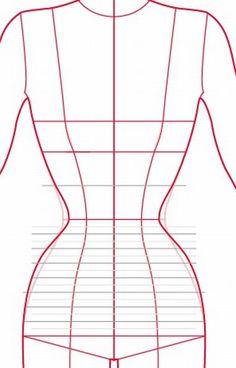 Garment to Corset shape comparison