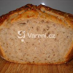 Chléb se sýrem cottage a lněným semínkem recept - Vareni.cz Banana Bread, Recipes, Breads, Bread, Rezepte, Braid Out, Buns, Recipies, Cooking Recipes
