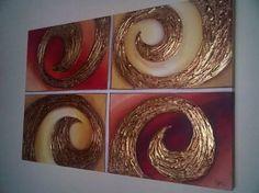 Resultado de imagen para cuadros abstractos con textura y relieve