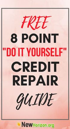 Credit repair free consultation call to action landing page design free 8 point do it yourself credit repair guide solutioingenieria Gallery