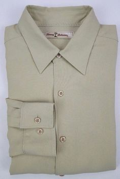 077bac21b5 Tommy Bahama Small Silk Shirt Mens Long Sleeve Button Front New NWT Light  Green