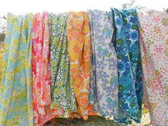 My Rose Valley: Retro fabric mania
