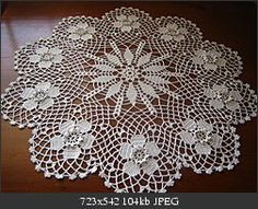 Jubii Mail :: Vi tror, at du vil synes om disse pins Thread Crochet, Diy Crochet, Hand Crochet, Lace Doilies, Crochet Doilies, Crochet Mandala Pattern, Crochet Patterns, Diy Crafts Knitting, Crochet Tablecloth
