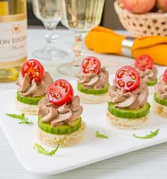 Party Finger Foods Hors D Oeuvre Russian Recipes Appetizers For Party Party Snacks Appetizer Recipes Canapes Cocktail Toast Party Snacks, Appetizers For Party, Appetizer Recipes, Party Sandwiches, Food Garnishes, Tasty, Yummy Food, Catering Food, Food Platters