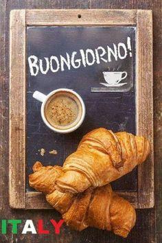 Buongiorno tutti quanti! Bevevamo caffe a casa, anche da piccoli! (I miei amici americani si scandalizavano!)