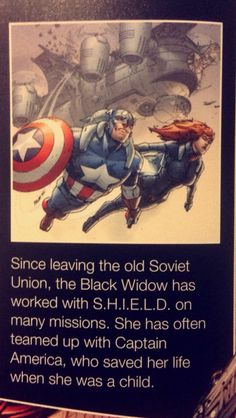 Going through my new avengers character guide and... - Marvel Universe