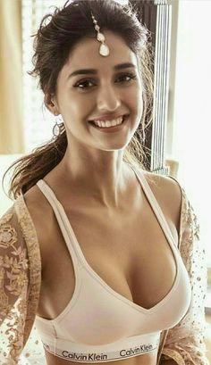 How is my cleavage - Disha Patani - Beautiful Indian Actress, Beautiful Actresses, Bollywood Celebrities, Bollywood Actress, Hot Actresses, Indian Actresses, Disha Patni, Girl Body, India Beauty