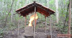 Primitive Technology: Building a Barrel Tiled Shed and Furnace From Mud http://www.wideopenspaces.com/primitive-technology-building-barrel-tiled-shed-furnace-mud/