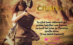 Citation d'amour de : Yves Saint-Laurent