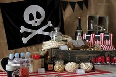 Nice box fiesta pirata Nice Party pirate party