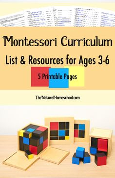 In this post, we share a free Montessori curriculum list of the top 10 Montessori works that are perfect to introduce and work through for ages 3-6 (or younger, if they're ready).
