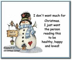 Many Christmas Blessing Wishes to all my Pinterest & FB friends!