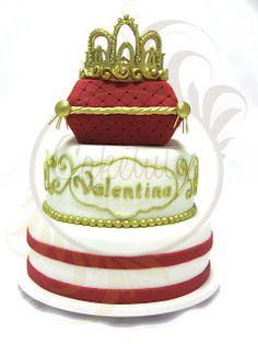 Caketutes Cake Designer: Festa Little Princess - Princess cake