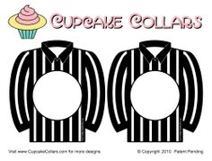 Superbowl Cupcake Collars