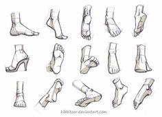 Как рисовать стопы   http://say-hi.me/illustration/uchimsya-risovat-glaza-kisti-ruk-i-stopy.html#&hcq=gwYyGtp