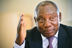 RAMAPHOSA BECOMES THE NEW HEAD OF THE ANC